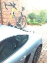 Porsche Caman S Mini Bomber 2 Bike Rack