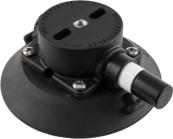 114 mm Black Vacuum Mount