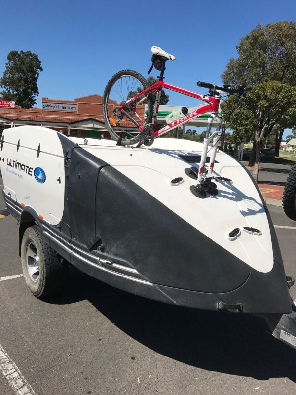 Ultimate Off Rad Camper / Caravan Bike Rack - The SeaSucker Talon